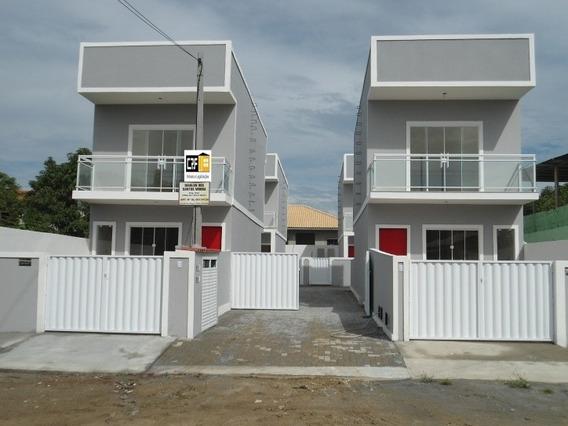 Duplex Em Araruama C/ 2 Quartos - Crf 356