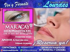 Curso Maquillaje Permanente Con Dermógrafo,cejas,ojos,labios