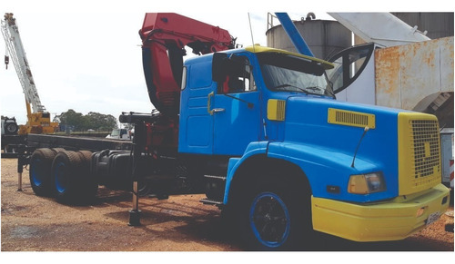 Caminhão Volvo Nl12, Com Munck Madal 40507 - 1011