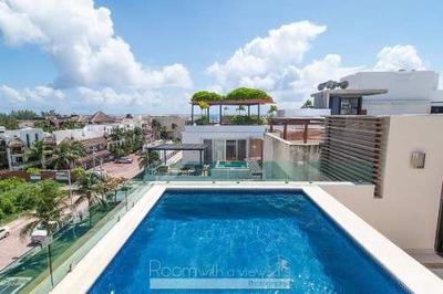Hermoso Penthouse Con Alberca En El Rooftop
