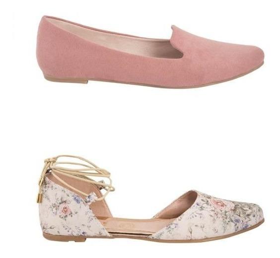 Zapatos Para Mujer Kit 2 Pares