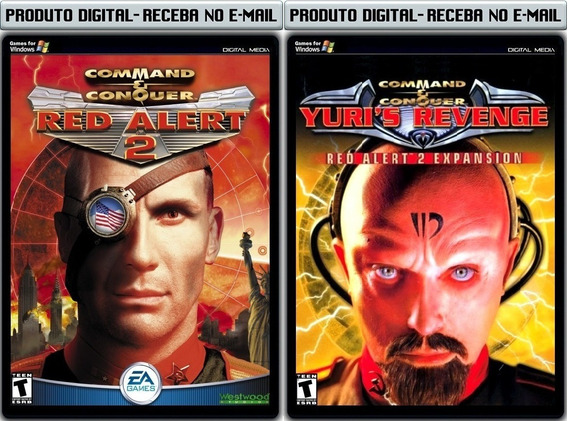 Red Alert 2 Com Expansão - Pc - Envio Digital