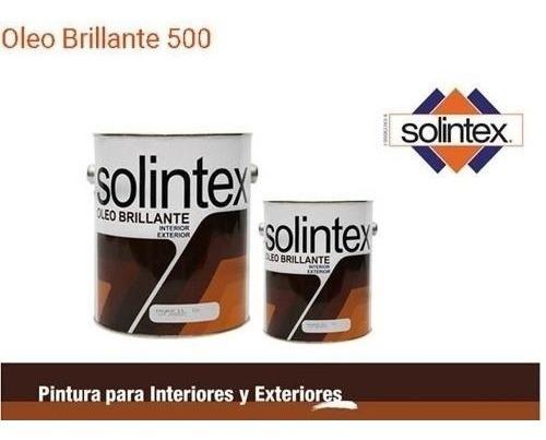 Oleo Brillante Solintex Pintura En Aceite