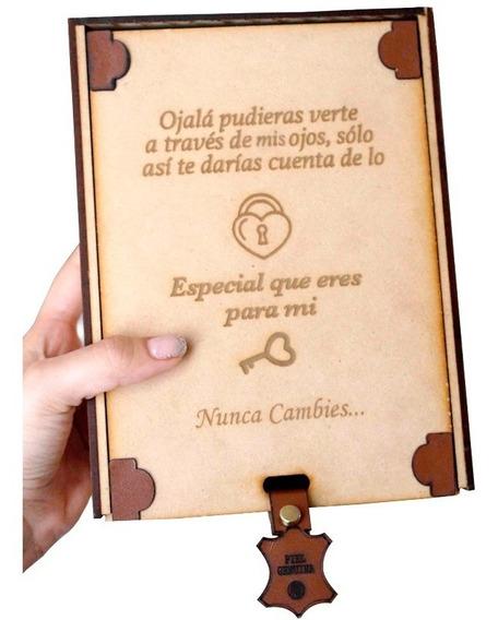 Caja De Madera Para Regalo Personalizada, Con Envío Incluído