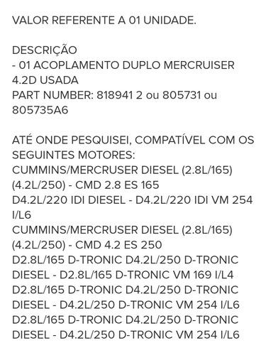 Duplo Mercruiser4.2