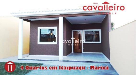 Ótima Casa Perto Do Barroco Praia E Condução - Ca3483