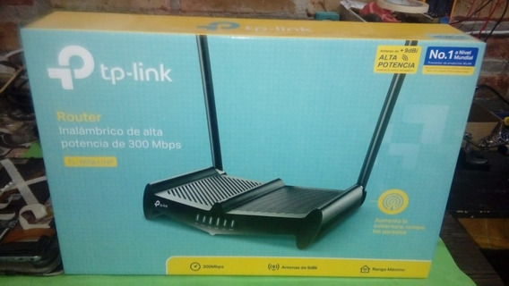 Router Inalámbrico De Alta Potencia 300mbps Tl-wr841hp