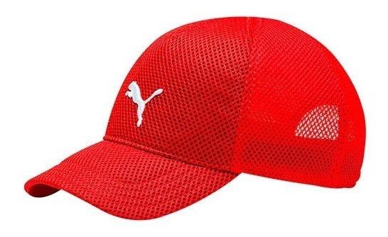 Gorra Puma Training Mesh 021981-03 Rojo Dama Pv
