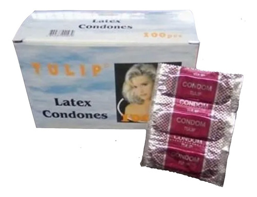 Preservativos Tulip Caja 300 Unidad - Unidad a $296