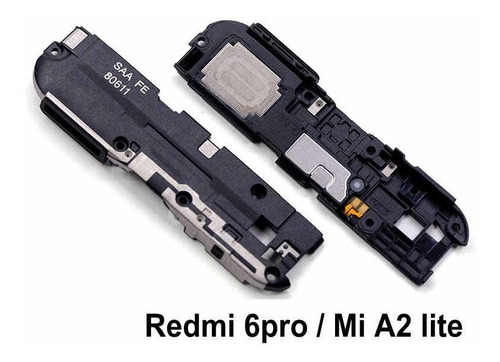 Imagen 1 de 3 de Parlante Altavoz Timbre Bocina Xiaomi Redmi 6 Pro Original!