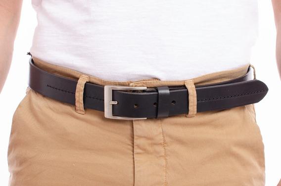 Cinturon Cuero Legacy Costura Hombre Lg8650110