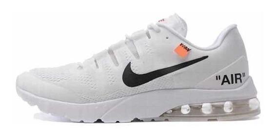 Zapatos Nike Airmax Off Blanco Negro