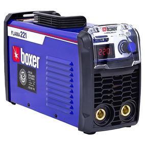 Máquina De Solda Inversora Boxer Flama 221 220 Volts
