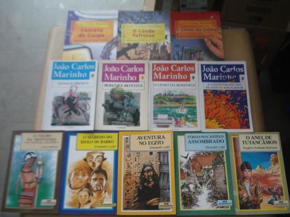 Lote Com 12 Livros Infanto Juvenil Variado Em Bom Estado Ger