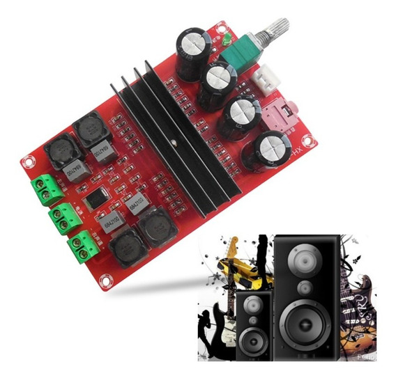 Kit Placa Montada Amplificador Estéreo 200w 100+100w Rms 2.0