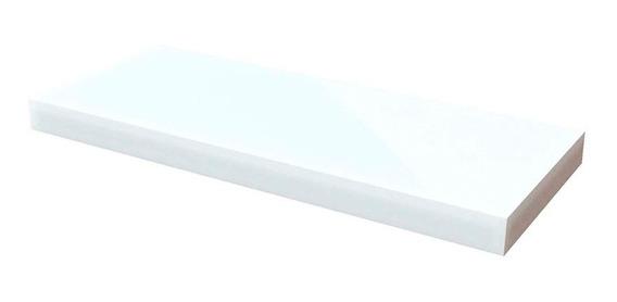 Estante Flotante Invisible 60x25 Cm Repisa Melamina