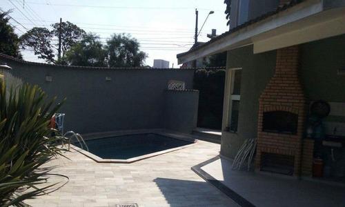 Sobrado Com 3 Dormitórios À Venda, 395 M² - Parque Dos Pássaros - São Bernardo Do Campo/sp - So17221