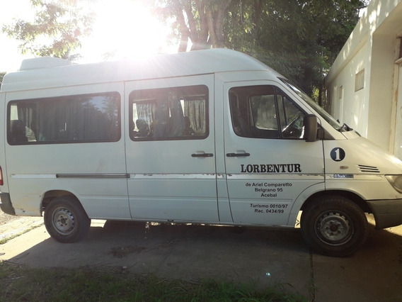 Mercedes-benz Sprinter 2.5 313 Combi 3550 15+1 Te F. 2006