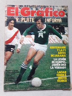 Revista El Gráfico Nº 3219 Junio 1981 Rocchia Ferro River