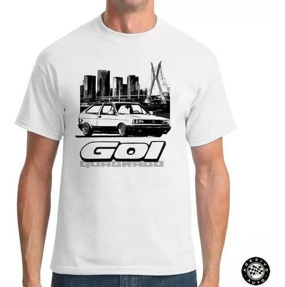 Camiseta Gol Quadrado Rebaixado Skyline City Cl 94+ Adesivo
