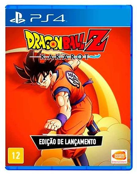 Dragon Ball Z Kakarot Playstation 4 Mídia Física Novo Ps4