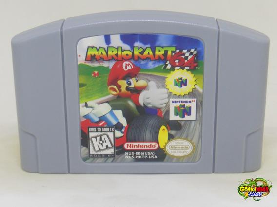 Mario Kart Nintendo 64 Novo N64