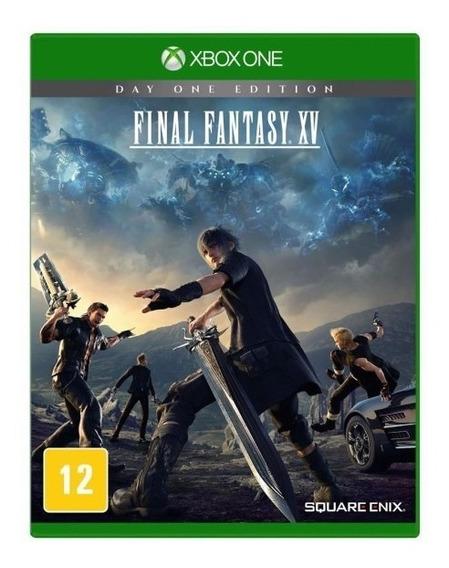 Final Fantasy Xv - Xbox One - Midia Física Lacrado