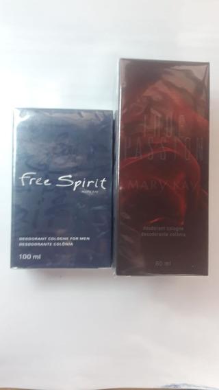 Perfume True Passion Feminino + Free Spirit Mary Kay