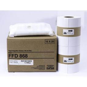 Papel Mitsubishi Ffd 868 P/ Impressora Cp80-dw 15x20