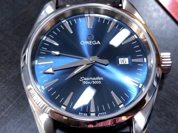 Relógio Omega Seamaster Aqua Terra Revisado Cartão Original