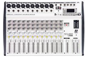 Mesa De Som Staner Mx1203usb 12 Canais