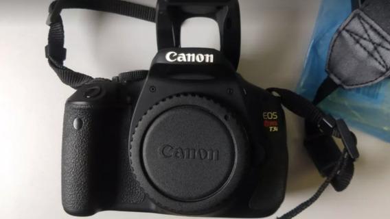 Canon Corpo Carregador E Bateria