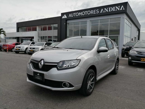 Renault New Logan Exclusive 16v Mecánica 2016 1.6 Fwd 639