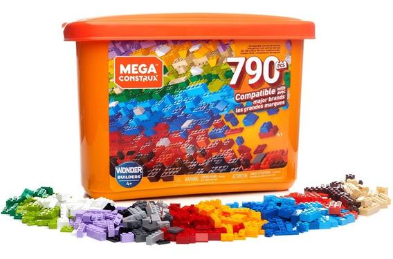 Mega Construx Mega Caja De 790 Micro Bloques