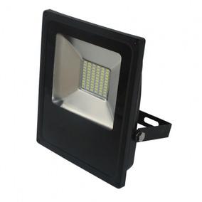 Refletor Led Slim 30w 6.000k Bivolt Blumenau Iluminação