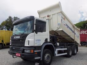 Scania P 310 6x4 2012 / Caçamba 16m³