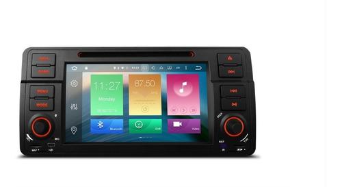 Radio Carro Bmw Serie 3 Android 9.0  64gb 4gb Usb Bluetooth