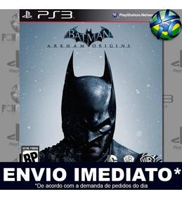 Jogo Batman Arkham Origins - Play 3   Promoção - Envio Agora