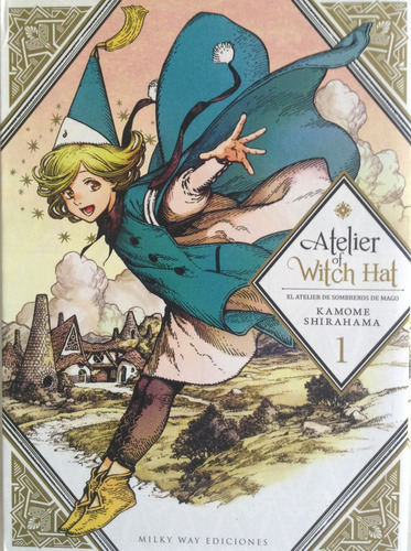 Atelier Of Witch Hat   Tongari Boshi No Atorie