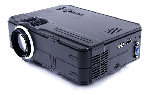 Projetor Led Rd-812 1080p Full Usb Vga Av Hdmi Original
