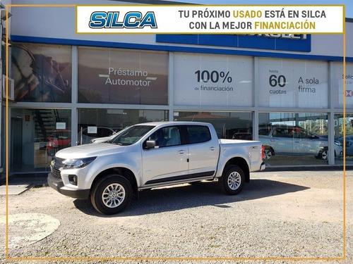 Chevrolet S10 Lt D Mt 4x4 Precio Leasing 2021 Gris Plata 0km