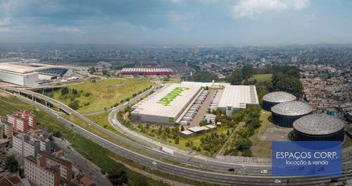 Imagem 1 de 2 de Galpão Logístico Para Alugar, 8.273m² - Itaquera - São Paulo/sp - Ga0649