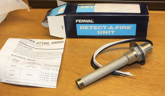 Detectores Anti Explosion-fenwall 2700