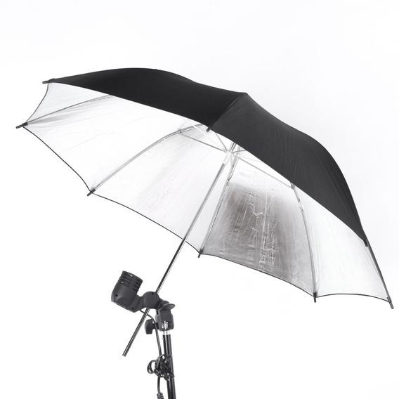 83 Cm 33in Studio Photo Strobe Flash Light Reflector Preto