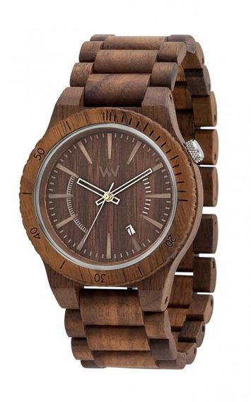 Relógio De Madeira Wewood Assunt Nut - Wwas04