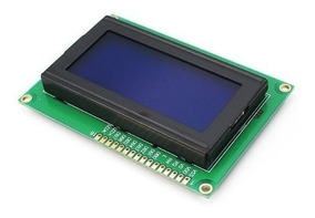Display Lcd 20x4 - 2004 Backlight Led Azul P/ Arduino Pic