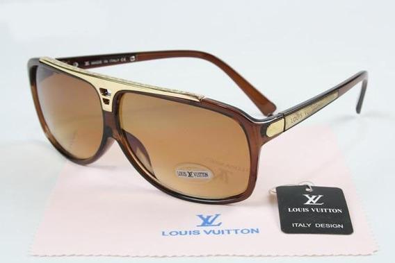 Óculos De Sol Louis Vuitton Evidence Millionaire Unissex