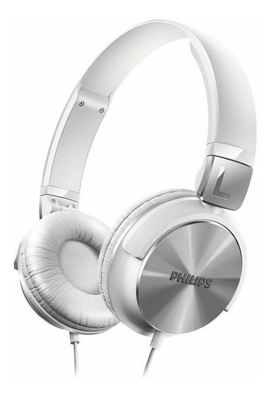 Fone De Ouvido Auricular Philips Shl3160wt Shl3160 * Branco