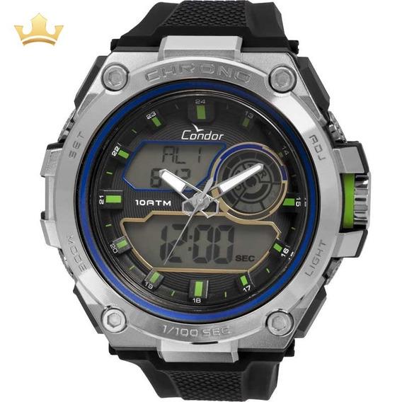 Relógio Condor Masculino Anadigi Co1161b/8p Com Nf