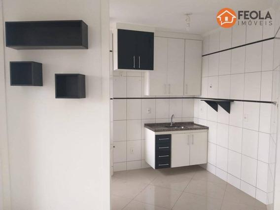 Apartamento Com 1 Dormitório Para Alugar, 41 M² Por R$ 980,00/mês - Jardim Santa Rosa - Nova Odessa/sp - Ap0384